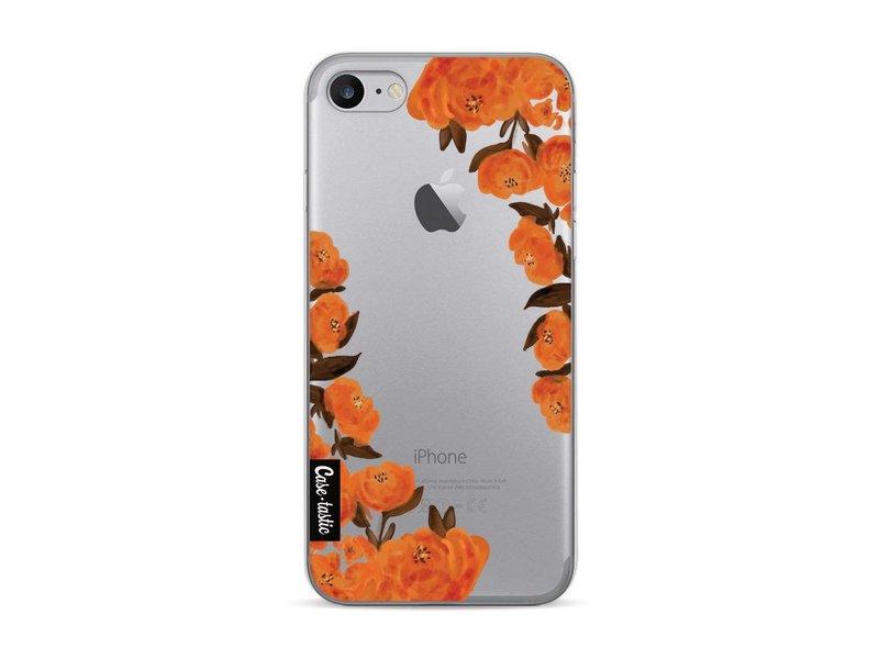Casetastic Softcover Apple iPhone 7 - Orange Autumn Flowers