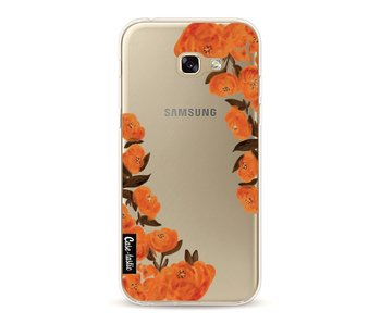 Orange Autumn Flowers - Samsung Galaxy A5 (2017)