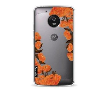 Orange Autumn Flowers - Motorola Moto G5