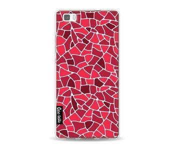 Red Mosaic - Huawei P8 Lite