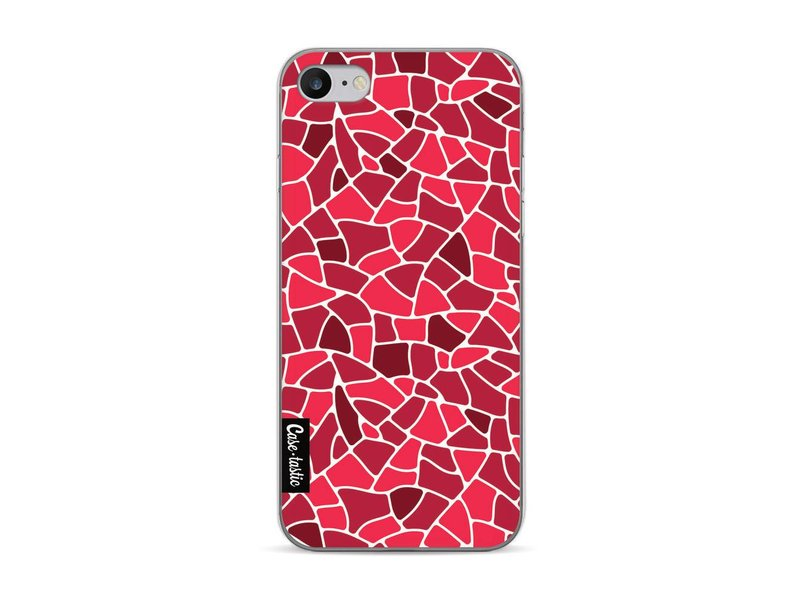 Casetastic Softcover Apple iPhone 7 - Red Mosaic