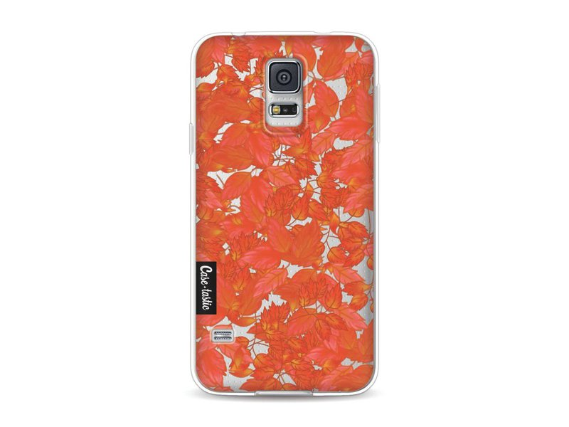Casetastic Softcover Samsung Galaxy S5  - Autumnal Leaves