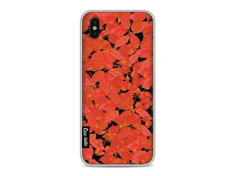 Casetastic Softcover Apple iPhone X - Autumnal Leaves
