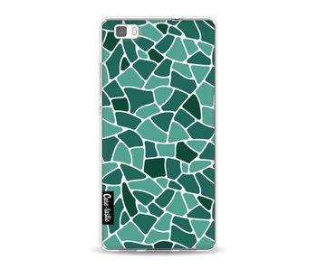 Aqua Mosaic - Huawei P8 Lite