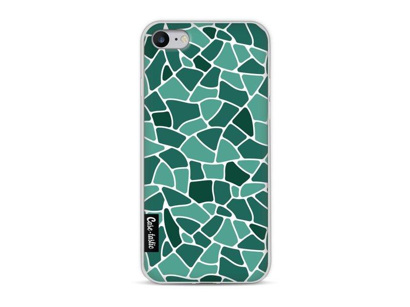 Casetastic Softcover Apple iPhone 8 - Aqua Mosaic