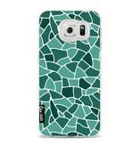 Casetastic Softcover Samsung Galaxy S6 - Aqua Mosaic