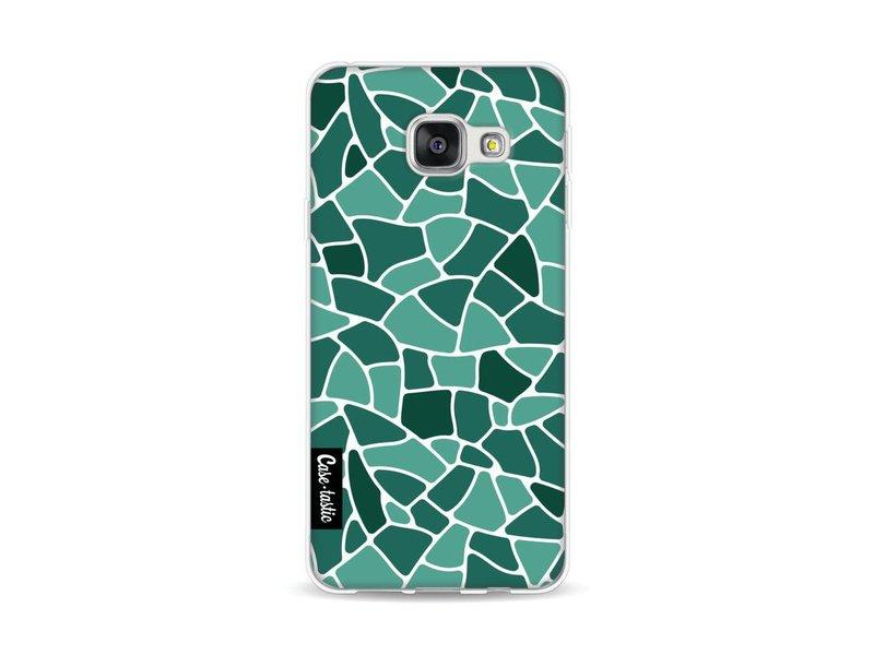 Casetastic Softcover Samsung Galaxy A3 (2016) - Aqua Mosaic