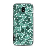 Casetastic Softcover Samsung Galaxy J5 (2017) - Aqua Mosaic