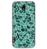 Casetastic Softcover Samsung Galaxy J7 (2017) - Aqua Mosaic