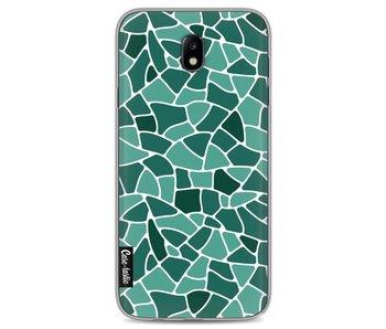 Aqua Mosaic - Samsung Galaxy J7 (2017)
