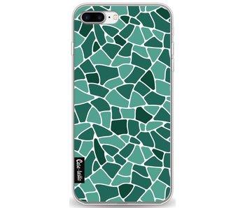 Aqua Mosaic - Apple iPhone 8 Plus