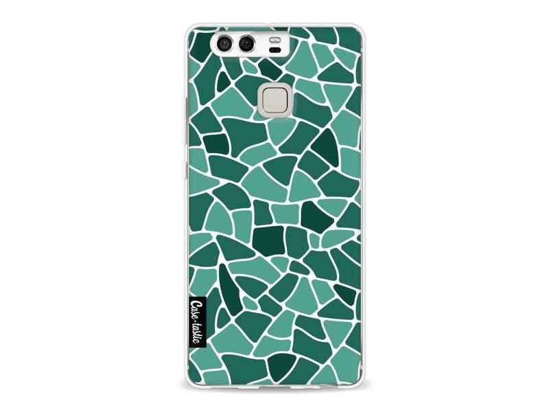 Casetastic Softcover Huawei P9 - Aqua Mosaic