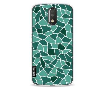 Aqua Mosaic - Motorola Moto G4 / G4 Plus