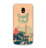 Casetastic Softcover Samsung Galaxy J3 (2017)  - Cool Cat