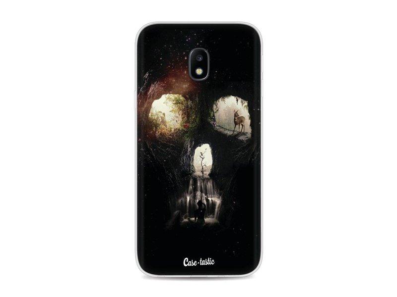 Casetastic Softcover Samsung Galaxy J3 (2017)  - Cave Skull