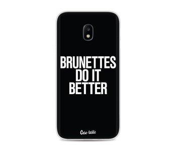 Brunettes Do It Better - Samsung Galaxy J3 (2017)