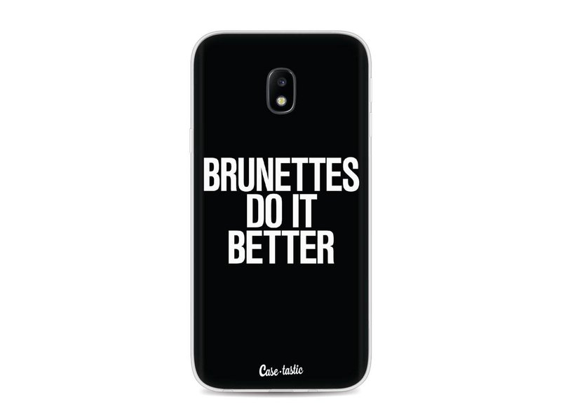 Casetastic Softcover Samsung Galaxy J3 (2017)  - Brunettes Do It Better