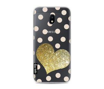 Glitter Heart - Samsung Galaxy J3 (2017)