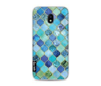 Aqua Moroccan Tiles - Samsung Galaxy J3 (2017)