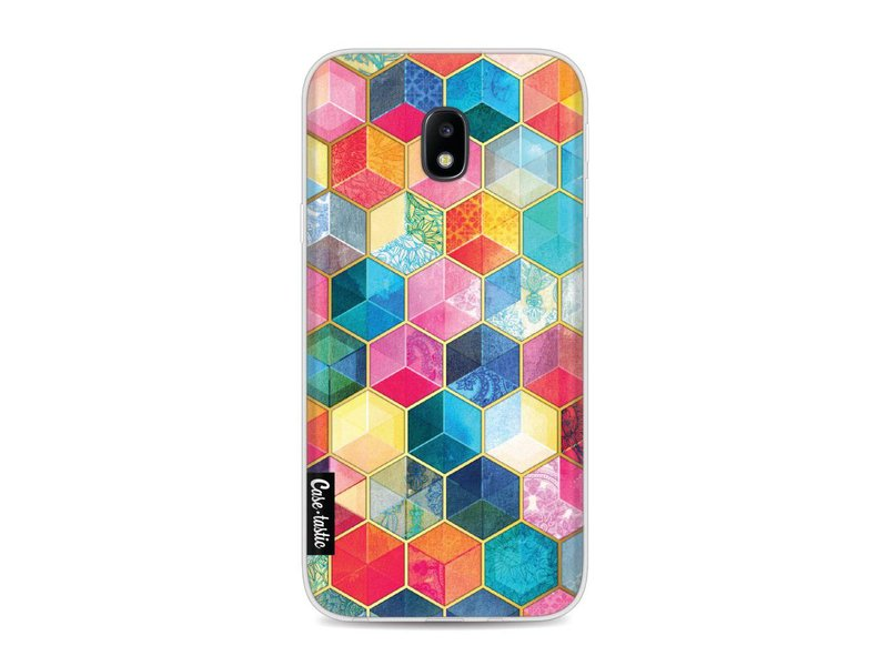Casetastic Softcover Samsung Galaxy J3 (2017)  - Bohemian Honeycomb