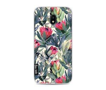 Painted Protea - Samsung Galaxy J3 (2017)