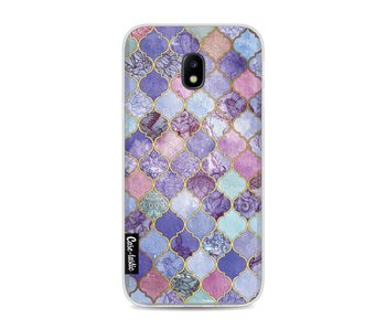 Purple Moroccan Tiles - Samsung Galaxy J3 (2017)