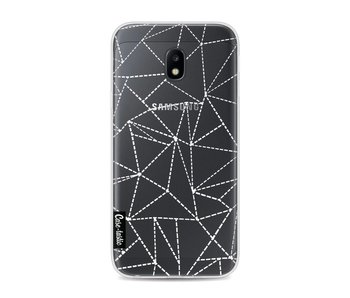 Abstract Dotted Lines Transparent - Samsung Galaxy J3 (2017)