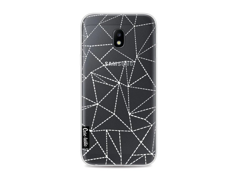 Casetastic Softcover Samsung Galaxy J3 (2017)  - Abstract Dotted Lines Transparent