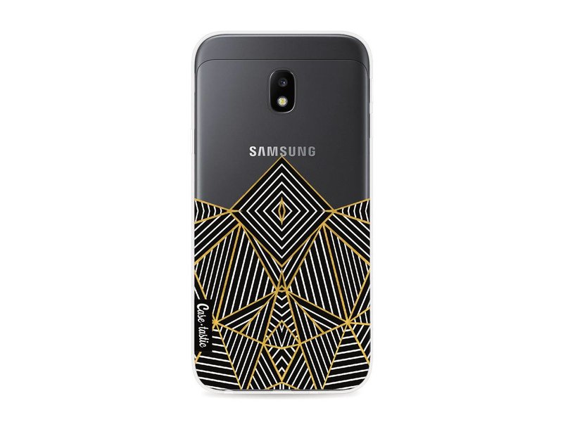 Casetastic Softcover Samsung Galaxy J3 (2017)  - Abstraction Half Transparent