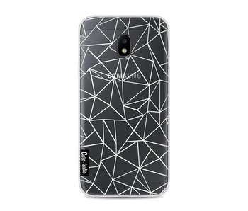 Abstraction Outline White Transparent - Samsung Galaxy J3 (2017)