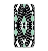 Casetastic Softcover Samsung Galaxy J3 (2017)  - Art Deco Mint