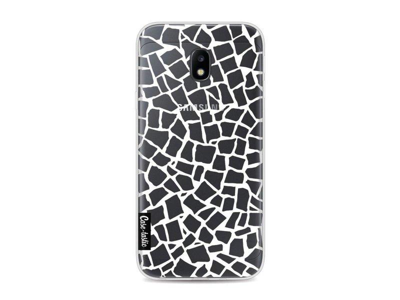 Casetastic Softcover Samsung Galaxy J3 (2017)  - British Mosaic White Transparent