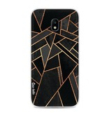 Casetastic Softcover Samsung Galaxy J3 (2017)  - Black Night