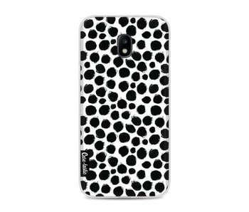 Black Dotted - Samsung Galaxy J3 (2017)