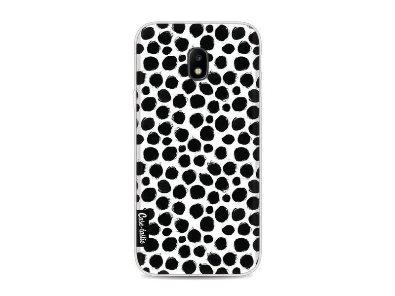 Casetastic Softcover Samsung Galaxy J3 (2017)  - Black Dotted