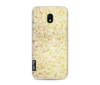 Abstract Pattern Gold - Samsung Galaxy J3 (2017)