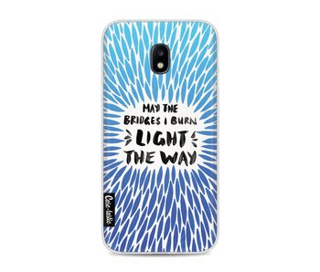 Blue Bridges Burn Burst Artprint - Samsung Galaxy J3 (2017)