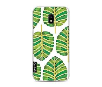 Green Alocasia Pattern - Samsung Galaxy J3 (2017)