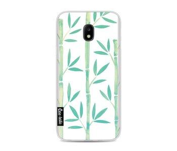 Turquoise Bamboo Pattern - Samsung Galaxy J3 (2017)