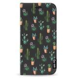 Casetastic Wallet Case Black Samsung Galaxy J3 (2017) - Cactus Dream