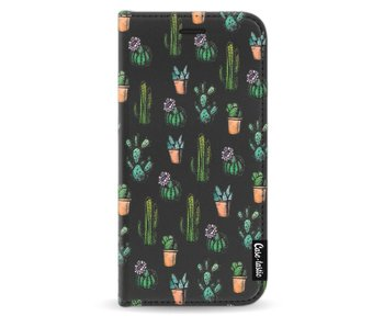Cactus Dream - Wallet Case Black Samsung Galaxy J3 (2017)