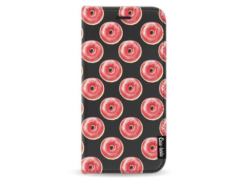 Casetastic Wallet Case Black Samsung Galaxy J3 (2017) - All The Donuts