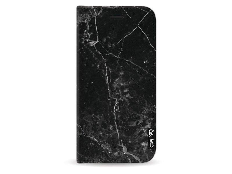 Casetastic Wallet Case Black Samsung Galaxy J3 (2017) - Black Marble
