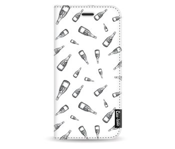 All The Champagne - Wallet Case White Samsung Galaxy J3 (2017)