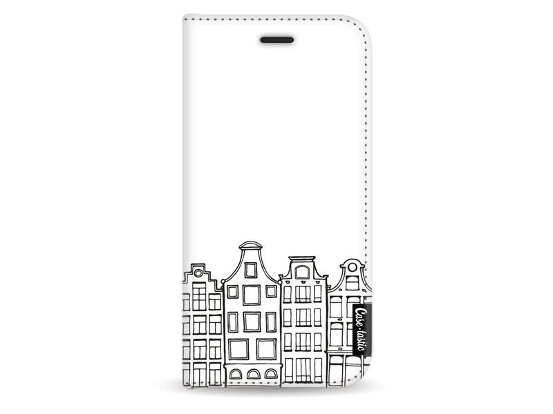 Casetastic Wallet Case White Samsung Galaxy J3 (2017) - Amsterdam Canal Houses