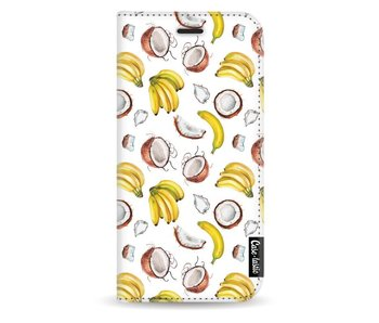 Banana Coco Mania - Wallet Case White Samsung Galaxy J3 (2017)