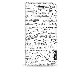 You Do The Math White - Wallet Case White Samsung Galaxy J3 (2017)