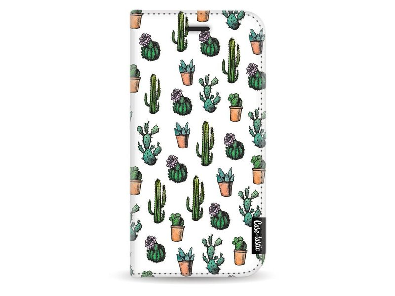 Casetastic Wallet Case White Samsung Galaxy J3 (2017) - Cactus Dream