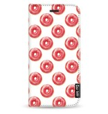 Casetastic Wallet Case White Samsung Galaxy J3 (2017) - All The Donuts