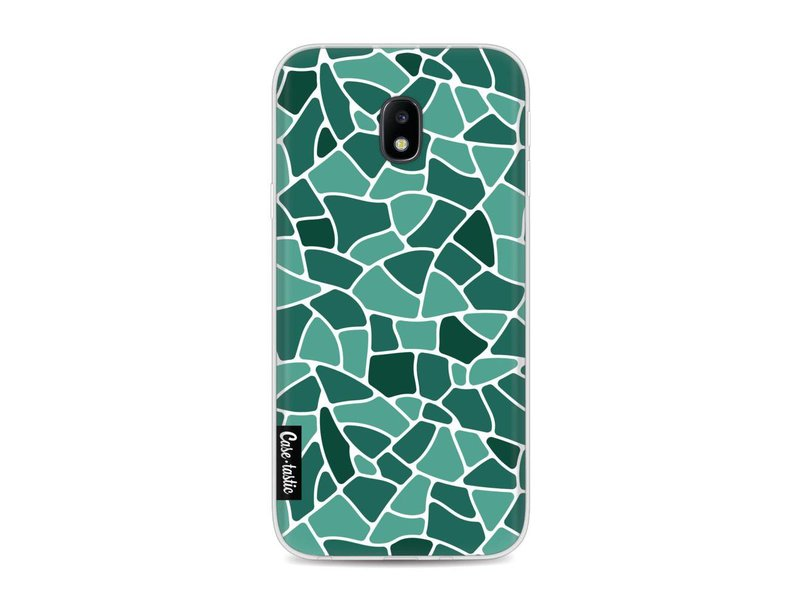 Casetastic Softcover Samsung Galaxy J3 (2017) - Aqua Mosaic